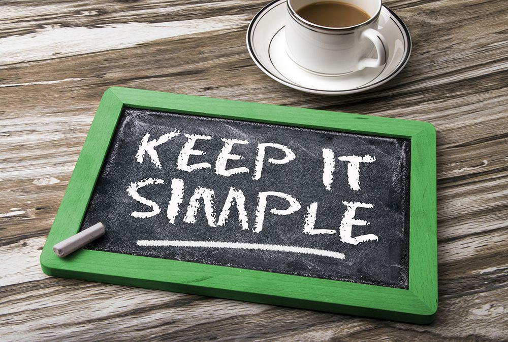 Writing Tips | Keep It Simple